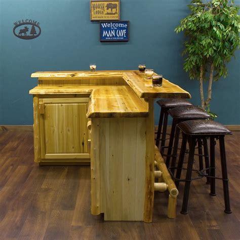 Jhe Log Furniture by Cedar Custom Made For You Log Bar Jhe S Log Furniture