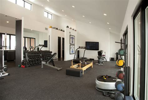 pool house work out facility modern home other