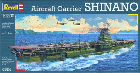 Decor Brushes by 1 1200 Revell Germany Aircraft Carrier Shinano Rg5816
