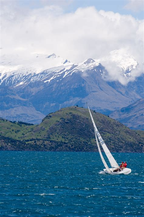 sailboat on lake sailboat on lake