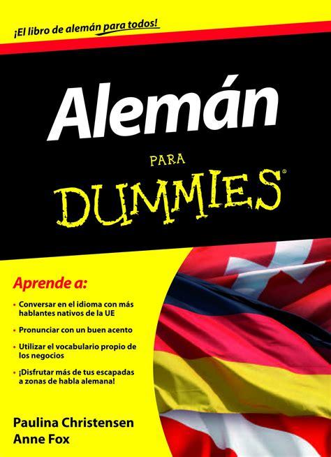libros en aleman para niños pdf descargar aleman para dummies epub mobi pdf libro