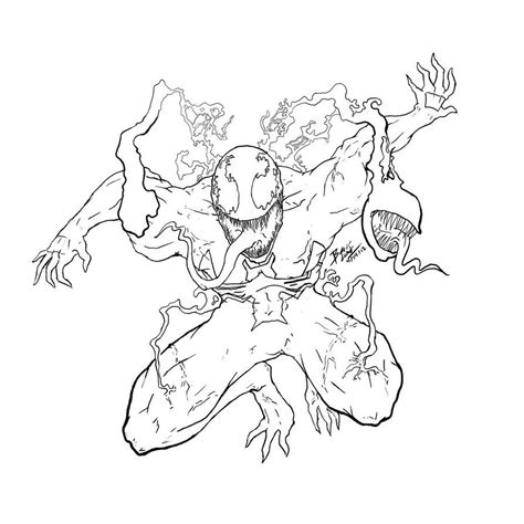 Carnage Coloring Pages Coloring Home Carnage Coloring Pages