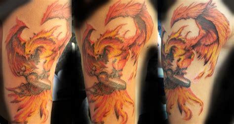 phoenix tattoo neo traditional phoenix holding oxygene mask by adalbert on deviantart