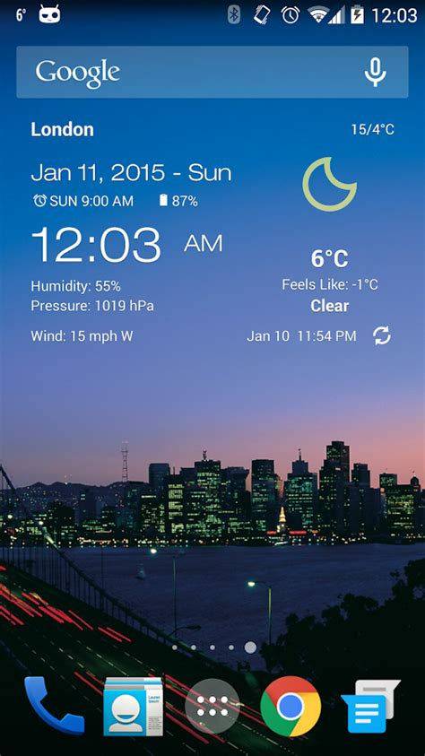 clock and weather widgets for android weather clock widget android android apps on play