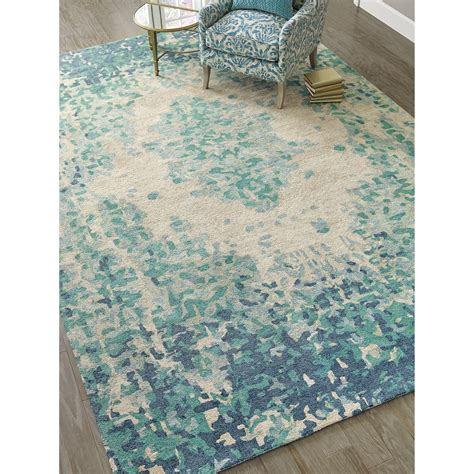 Looking For Area Rugs Company C Looking Glass Tufted Lake Indoor Area Rug