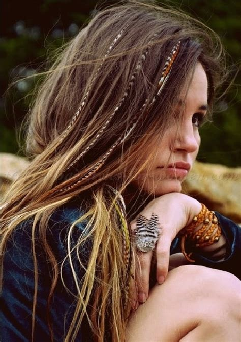 Hippie Hairstyles For Long Hair | hair down hairstyles hippie hairstyle for women trendy