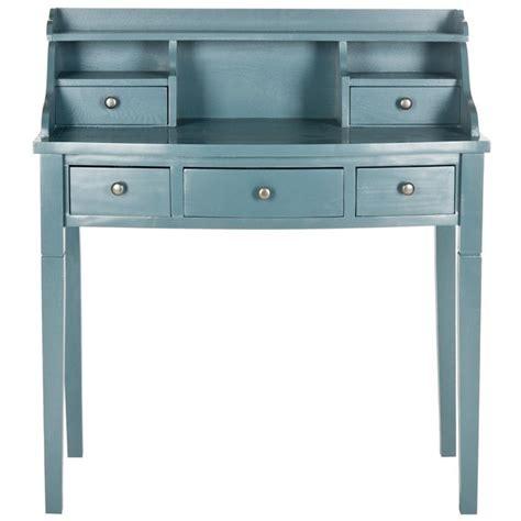 Teal Desk L Safavieh Landon 36 Quot Writing Desk In Teal Amh6516e