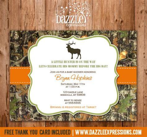 free printable hunting stationary printable mossy oak camo baby shower invitation hunting