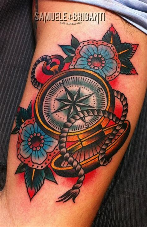 traditional compass tattoo best 25 traditional compass ideas on