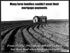 the great depression housing foreclosures unit 6 powerpoint the great depression begins