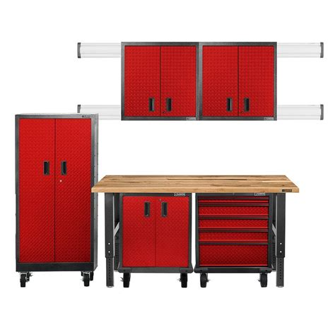 Gladiator Garage Cabinets by Gladiator Premier Series Pre Assembled 66 In H X 102 In