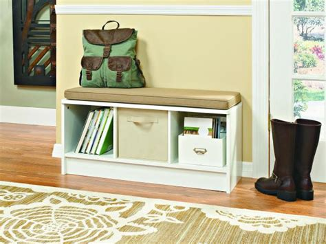 mudroom bench seat declutter your entryway with these tips hgtv