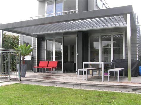 Deck Design Ideas vergola louvres john hewinson canvas whangarei