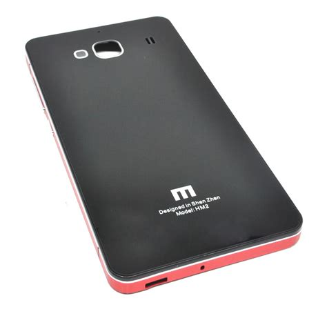 Tempered Glass Xiaomi Redmi 2 Forcia aluminium tempered glass for xiaomi redmi 2 redmi 2 prime black