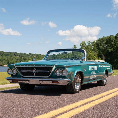 chrysler convertible cars 1963 chrysler 300 pacesetter convertible indy 500