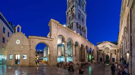 diocletian palace  medieval split