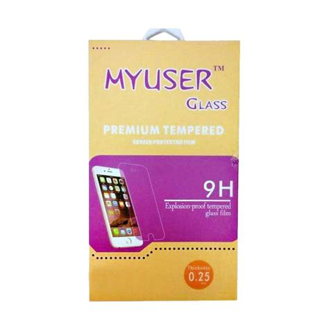 Temper Glass Andromax E2 jual myuser tempered glass screen protector for andromax