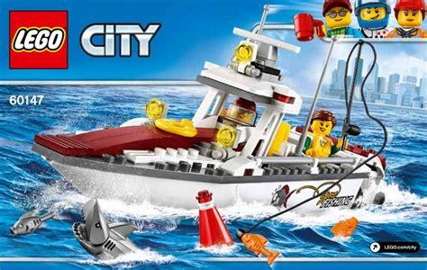 Lego Wars Boat lego 60147 fishing boat premier aper 231 u lego city 2017