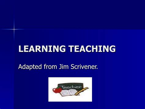 learning teaching third edition by jim scrivener on eltbooks 20 off learning teaching
