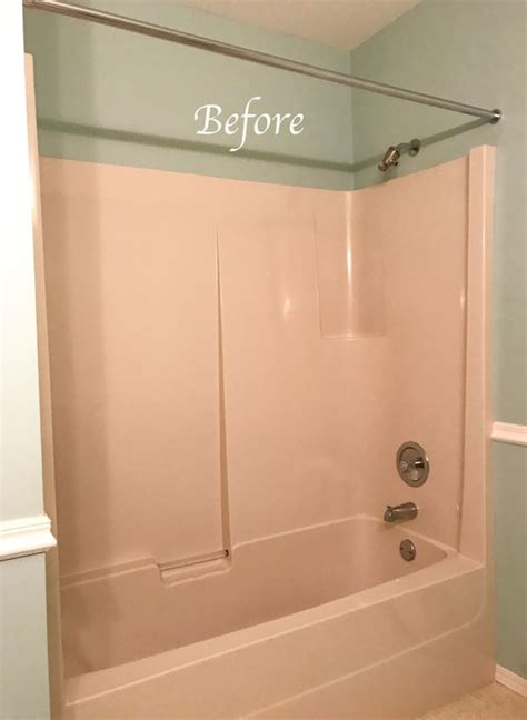 beige bathtub how i saved 1500 in my bathroom renovation and you can too