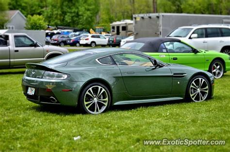 Aston Martin Connecticut by Aston Martin Vantage Spotted In Lakeville Connecticut On
