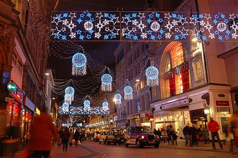 christmas lights in new street birmingham quot city