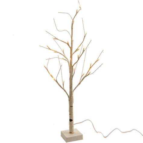 kaemingk led birch tree white cool white 180cm 96 lights kaemingk pre lit paper birch tree 4ft 1 2m warm white 499181 bosworths shop