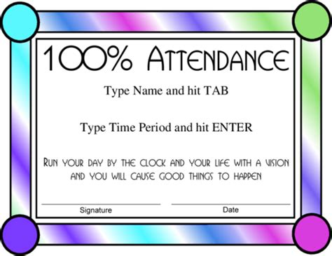 search results for printable attendance