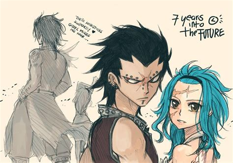 gajeel and levy future gajeel and levy oh my gosh i it