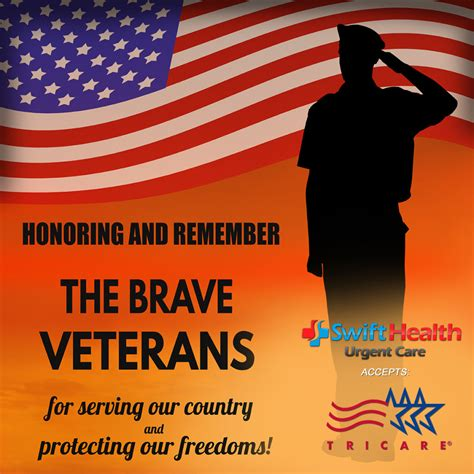 honoring  remember  brave veterans swift health urgent care clinic
