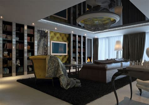 Ideas For Home Decoration Living Room interior design of modern classic style