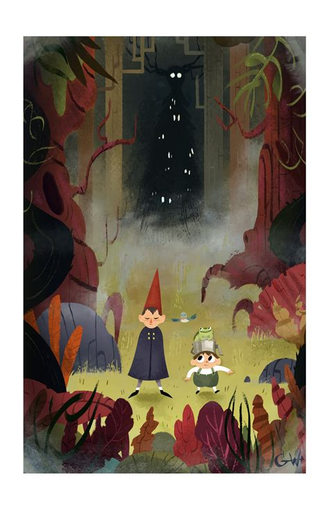 elijah wood over the garden wall new cartoon network show featuring elijah wood over the