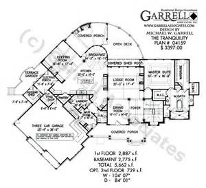 tranquility house plan tranquility house plan craftsman house plans