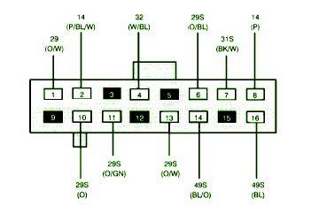 1996 ford contour relay diagram ford auto parts catalog