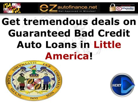maryland auto loans guaranteed car financing