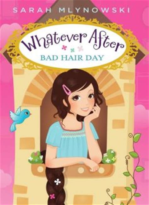 whatever after sink or swim bring on the books whatever after bad hair day by sarah