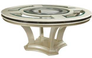 Glass Circular Dining Table 72 Quot Modern Pearl Glass Dining Table Ebay