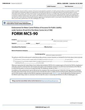 mcs 90 fill printable fillable blank pdffiller