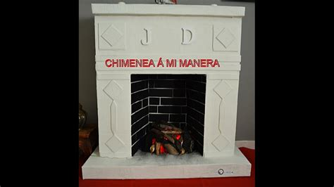 chiminea youtube chimenea de carton 193 mi manera youtube