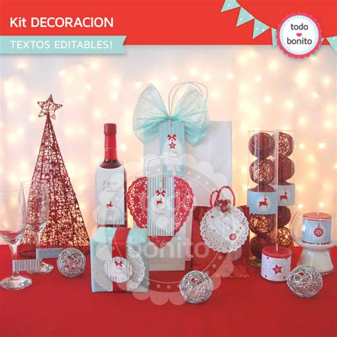 Star Wars Decor kit moderno de navidad imprimible