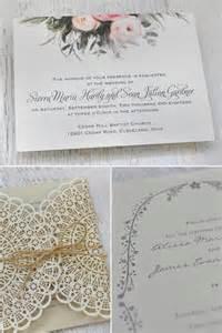 bohemian wedding invitation wording boho wedding invites by invitations by weddbook