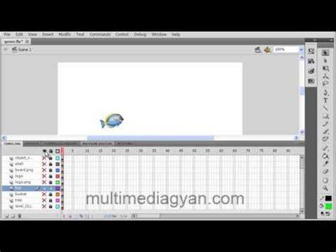 adobe flash tutorial in hindi lesson 11 layers in adobe flash cs 5 hindi video