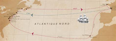hermione bateau trajet l hermione est partie voguer sur les traces de lafallette