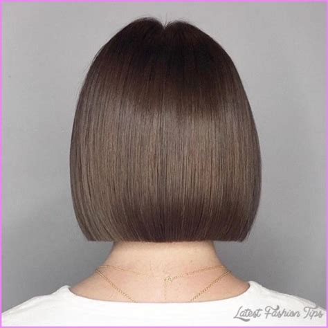 One Length Hairstyles by Layered Hair Razor Cuts And One Length Cuts