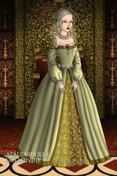 fashion doll maker lizzie wedding gown by tudorqueen created using the