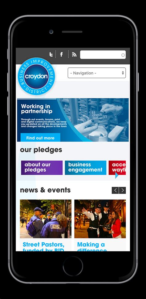 bid uk tothepoint work croydon bid website