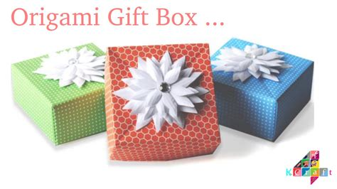 8 Gifts To Buy Other Peoples by Diy How To Make An Origami Gift Box With One Sheet Of