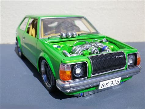 where are mazda cars built scratch built mazda glc scale auto pinterest mazda