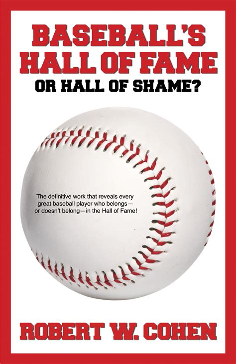 baseball picture books baseball s of fame or of shame book by robert