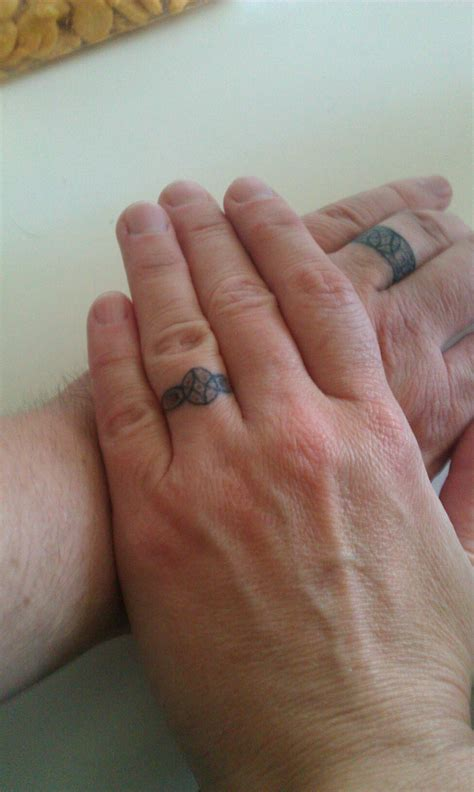 couples wedding ring tattoos wedding ring tattoos designs ideas and meaning tattoos
